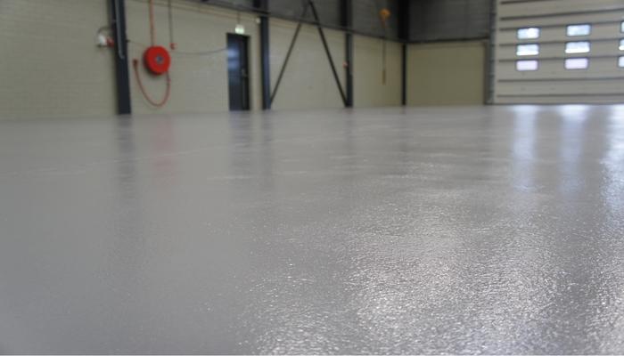 Epoxy coating vloer Grau Schilders en Stucadoors B.V